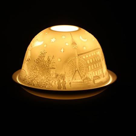 Porcelain Dome Light London, England