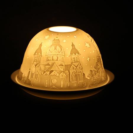 Porcelain Dome Light Munich, Germany