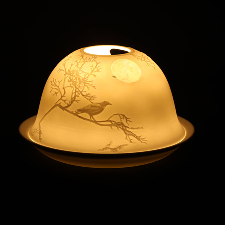 Porcelain Dome Light Nightingale Moon