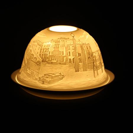 Porcelain Dome Light Venice, Italy