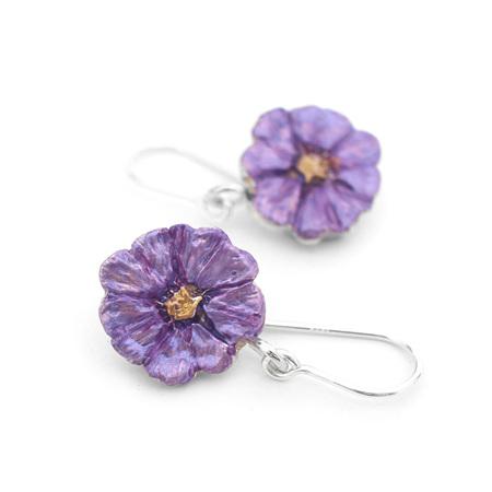 Poroporo Flower Earrings