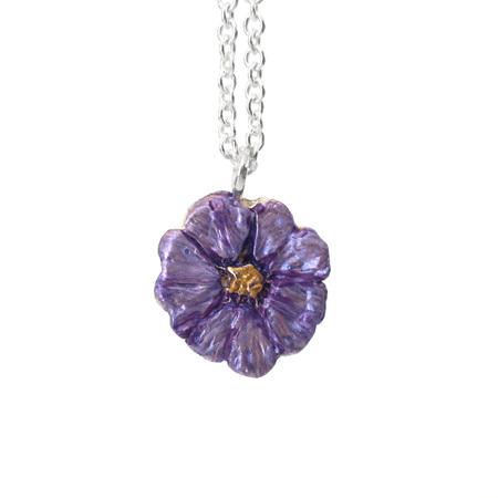 Poroporo Flower Necklace