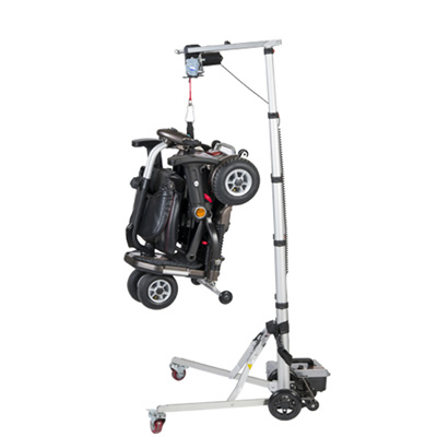 Portable Scooter and Wheelchair Hoist and Lifting Platform