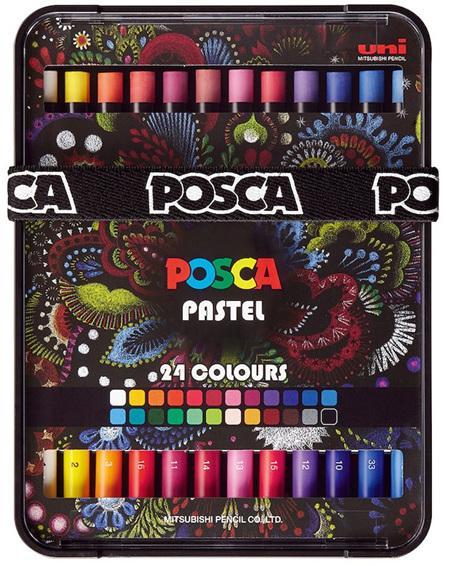 Posca Pastel - Set 24