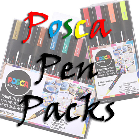 Posca Pen Packs