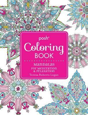 Posh Adult Coloring Book - Mandalas