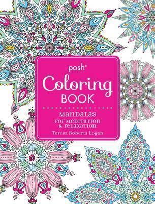 Posh Adult Coloring Book - Mandalas