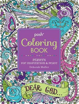 Posh Adult Coloring Book - Prayers for Inspiration & Peace