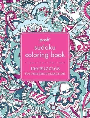 Posh Adult Coloring Book - Sudoku