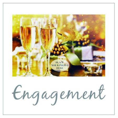 Posh Frame Engagement 18x18cm