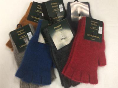 Possum & Merino Fingerless Gloves