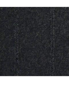 Possum Merino Garter Poncho - Charcoal