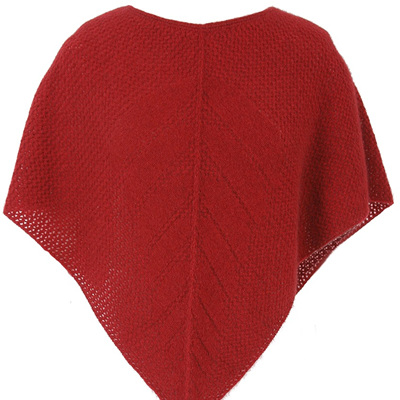 Merino Cape Knitting Pattern : Accessories - The Mohair Store