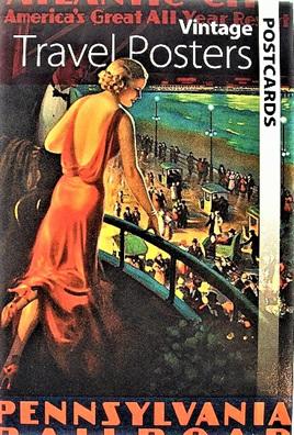 Postcard Set - Vintage Travel Posters