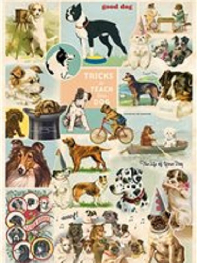 Poster or Gift Wrap - Dogs