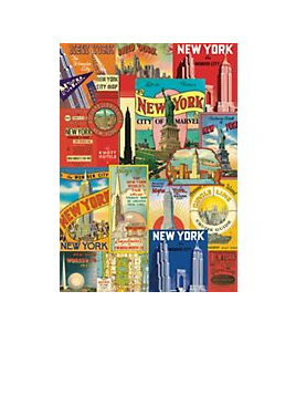 Poster or Gift Wrap - New York
