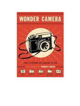 Poster or Gift Wrap - Wonder Camera