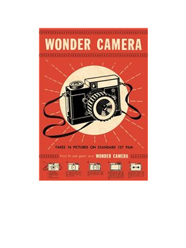 Poster or Gift Wrap - Wonder Camera