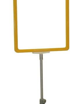 Poster/Ticket Pole and Base ONLY Frame not included - 20P35A
