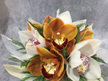 Posy Bowl of Seasonal Orchids