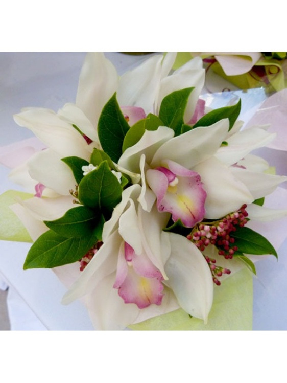 Posy bowl Seasonal Orchids