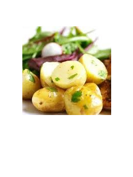 Potatoes Agria Certified Organic Approx 1kg