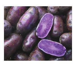 Potatoes Purple Heart Certified Organic 500g