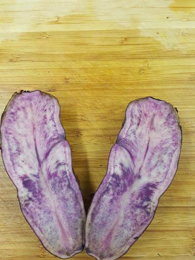 Potatoes Purple Passion (New Season) Certified Organic 1kg