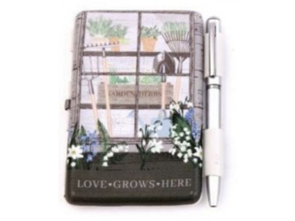 Potting Shed Designs Notepad with Pen