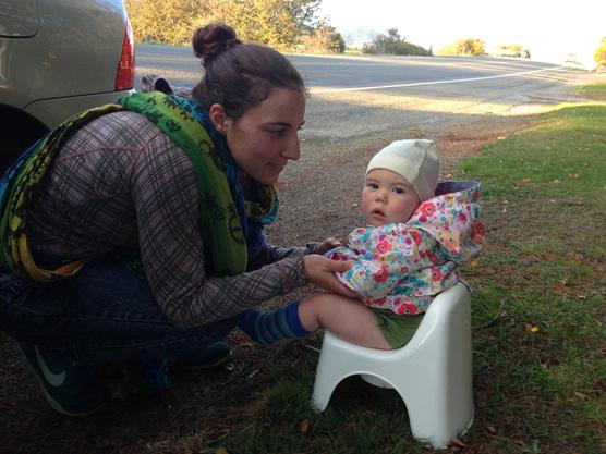 potty training elimination communication baby nz