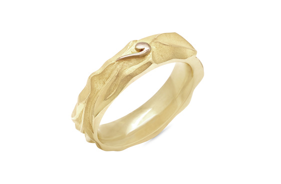 Pouakai - Mens wedding ring from The Narrative Collection