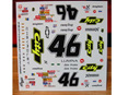 Powerslide 1/24 #46 City Chevy Days of Thunder Decals (PWR194)