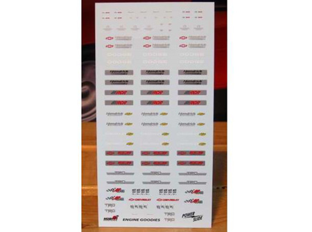 Powerslide 1/24 Engine Goodies Decals