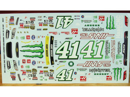Powerslide 2015-16 Kurt Busch Monster Energy Nascar Decals