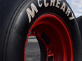 Powerslide Goodyear McCreay White Tire Decals 1981-1992