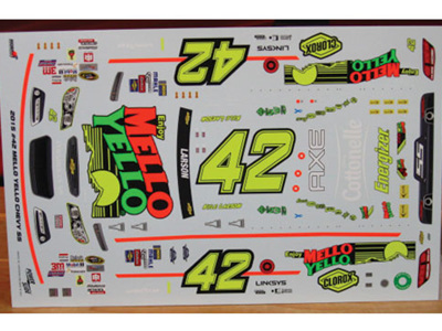 Powerslide Mello Yello Throwback Chevy SS  Kyle Larson Decals