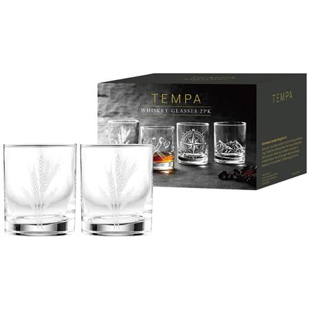 PRE ORDER  Atticus Malt Whiskey Glass 2pk