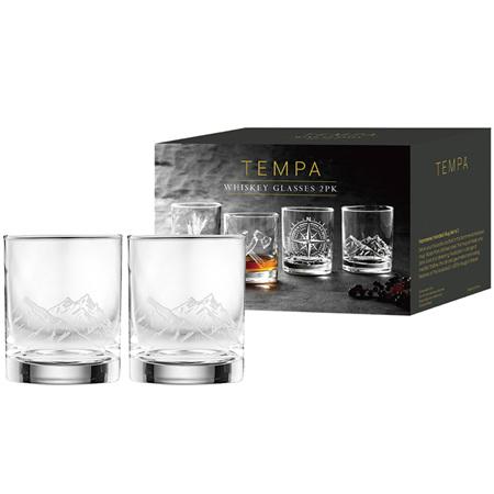 PRE ORDER   Atticus Mountain Whiskey Glass 2pk