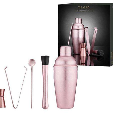 PRE ORDER   Aurora Blush / Pink Cocktail Set 5pc