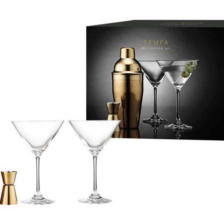 PRE ORDER   Aurora Gold Gift Cocktail Set 4pc