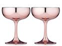 PRE ORDER | Aurora Rose Coupe Glass 2pk