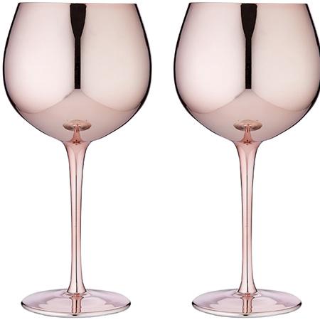 PRE ORDER   Aurora Rose Gin Glass 2pk