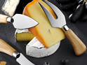 PRE ORDER | Fromagerie Cheese Knife Set 3pc Acacia Wooden Handle