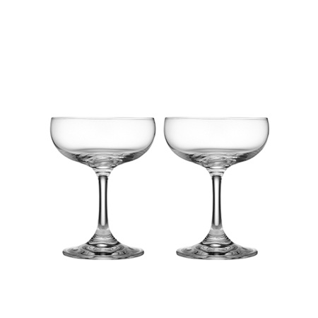 PRE ORDER   Quinn Coupe Glass Set of 2