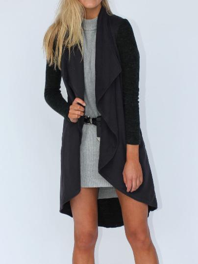 PRE ORDER Sweet Jasmine Coat - Black