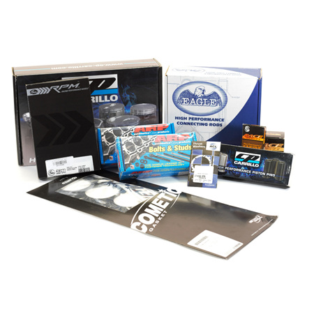 Premium 2JZ Engine Rebuild Package - Cometic Head Gasket - 8.5:1 CR