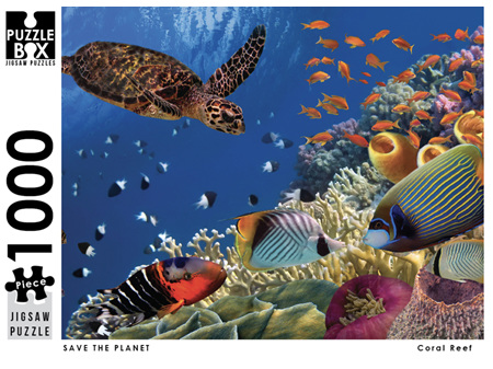 Premium Cut 1000 Piece Jigsaw Puzzle Save The Planet Coral Reef