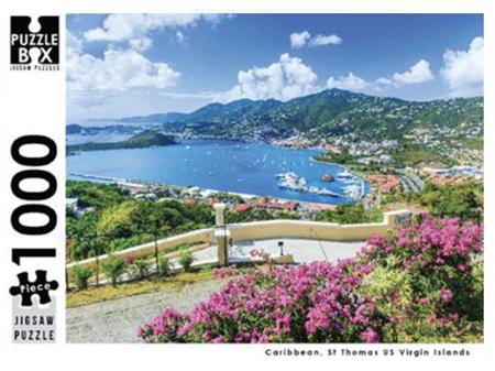 Premium Cut 1000 Piece Jigsaw Puzzle St Thomas US Virgin Islands