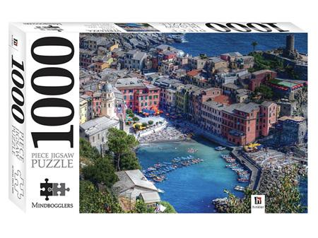 Premium Cut 1000 Piece Jigsaw Puzzle Vernazza Liguria, Italy
