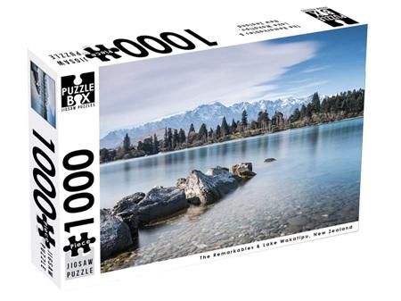 Premium Cut 1000 Piece Puzzle Remarkables & Lake Wakatipu